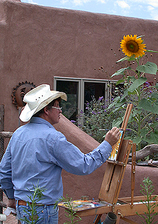 painting in southwest new mexico